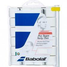 PACKS DE 12 SURGRIPS PRO TEAM BLANC BABOLAT !