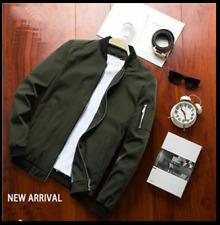 Spring Men Bomber Zipper Jacket Casual Streetwear Hip Hop Plus Size Slim Fit 4XL