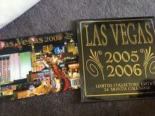 LAS VEGAS 2005 Collector Series & Limited Collectors Edition 24 Month Calendar