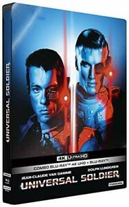 Universal Soldier [4K Ultra HD + Blu-Ray-Édition boîtier SteelBook] / * BLU R...