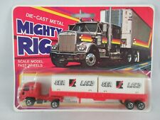 Welly Truck and container trailer Mighty Rig