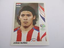 Sticker PANINI Fifa World Cup GERMANY 2006 N°119 Paraguay Jorge Nunez