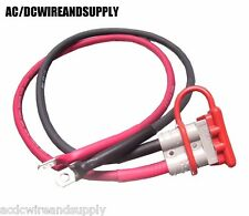6 GAUGE, 2 FT QUICK CONNECT LEAD SB50 BATTERY CABLE WINCH MOTORCYCLE,ATV,UTV