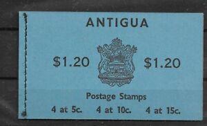 Antigua @ Booklet SB 1 MNH @ Gb.89 A
