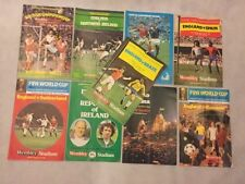 Teams S-Z Wales World Cup Football Programmes