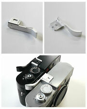 Hand Grip Thumb up Grip for Leica M M9 camera Silver New