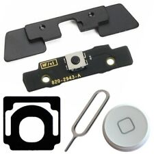 5 in 1 Internal Outside Home Button Keypad Keyboard Bracket For iPad 2 White