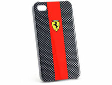 Ferrari Official iPhone 4/4S Red Carbon Fiber Hard Phone Case FECBP4RE New