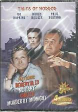Tales of Horror 4 Movies Dementia 13/Mutant/Chiller/Murder at Midnight DVD New