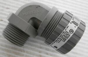 "Hubbell NHC1043CR Connector Diameter Range .875""-1"" 90°"