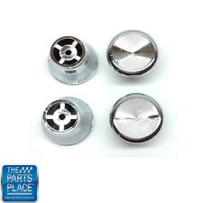 1967-72 Pontiac Chrome Dash Kick Panel Knob - Set of 4