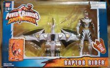 Power Rangers Dino Thunder White Drago Zord Rider Action Figure NeW Misprint Box
