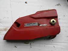 Mountfield MC382 Chainsaw parts - Chain side cover & nut