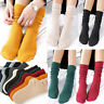 Ventilate Cotton Socks Womens Girls Stocking Long Knitted Boot Socks 10 Colors