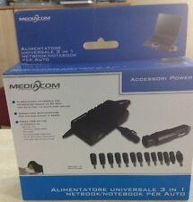 Alimentatore automatico Universale Accendisigari Auto / Notebook Mediacom M-DCNE