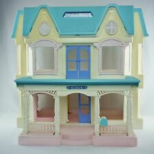 Vintage 90's Fisher Price Doll House 6364 Loving Family Dream Dollhouse