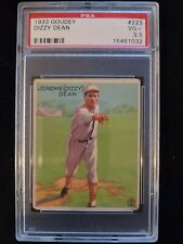 1933 Goudey Dizzy Dean #223 PSA 3.5 VG+ Check out my other listings!