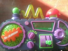 Nickelodeon Time Blaster Alarm Clock Radio Rare Fun Sound Effects Best Clock