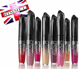 RIMMEL APOCALIPS / SHOW OFF LIP LACQUER 5.5ml~~Choose Your Shade