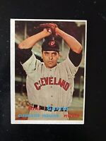 1957 TOPPS #300 MIKE GARCIA CLE INDIANS— CREASE FREE💥*** (wph)