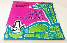 CAL TJADER SEXTET A Night At the Blackhawk FANTASY 3283 LP NM red wax promo