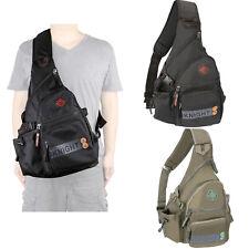Kawei Men Women Large Sling Bag Backpack Chest Shoulder Pack Travel Shoulder Bag