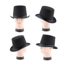 Party Costume Steampunk Top Hat Mat Hatter Magician Wedding For Adult Child