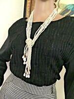 80's Vintage Black Silver Sparkle Sweater
