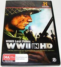 WWII Lost Films - WWII In HD--- (DVD, 2010, 3-Disc Set)