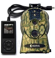 Wildkamera Wasserfeste 10MP Infrarot Fotofalle mit LCD Fernbedienung 940nm