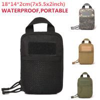 1× Outdoor Waterproof Waist Belt Pack Phone Pencil Case Pouch Bag Camping Hiking
