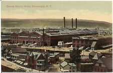 General Electric Works at Schenectady NY Postcard