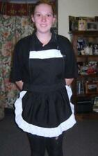 FRENCHMAID PARTY PINI BLACK WITH WHITE TRIM CAN BE MADE IN MOST COLOR WITH TRIM