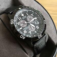 CITIZEN Titanium Ion Men's 43mm Chronograph Watch, Black
