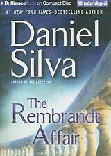 Gabriel Allon: The Rembrandt Affair Daniel Silva (2010, 10 CDs, Unabridged) NEW
