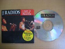 THE RADIOS 1994 Marktrock Live 5-track Card Sleeve CD *  Bart Peeters