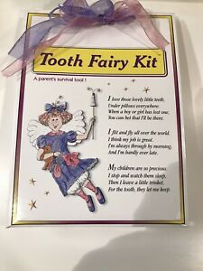 "The Tooth Fairy Kit  "" ships new in Box "" THE HUG FACTORY """