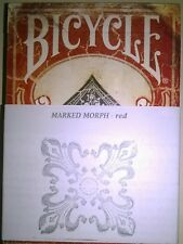 NEW MARKED MORPH DECK - SERIES 1800 Deck Magic Trick Bicycle Playing Cards USPCC