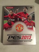 Pes 2013 Manchester United Steelbook Case Pro Evolution Soccer 2013