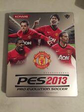 Pes 2013 Manchester United Steelbook Case Pro Evolution Soccer 2013