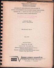 Report No.1 Dynamic Flight Simulators HSR July 1962 exFAA 062918DBE2