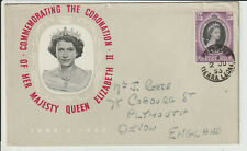 SIERRA LEONE - 1953 CORONATION FIRST DAY COVER