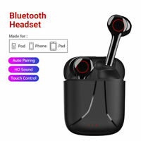 Bluetooth 5.0 Headset TWS Wireless Earphones Mini Earbuds Stereo Headphones