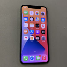 Apple iPhone X - 256GB - Silver (Unlocked) (Read Description) BJ1125