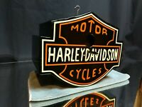 HANDMADE Harley Davidson BIRDHOUSE Easy to Clean & Hang! Birds and Bikes