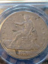 1876-S T$1 Trade Dollar .. ANACS AU-55 .. Some Toning