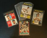2020 Topps Heritage PITTSBURGH PIRATES Super Master Team Set (25); Clemente, SPs