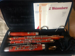 Moennig Artist Special Bassoon, exceptional condition w/ case, bocals, reeds