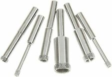 "SE Diamond Hole Saw Set with 80 Grit and 1/4"" Shank Size (6 PC.)"