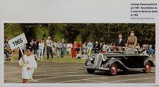 2002  --  JUMELAGE CHANTONNAY OCANA  RECONSTITUTION VISITE DE GAULLE 1965  3K701
